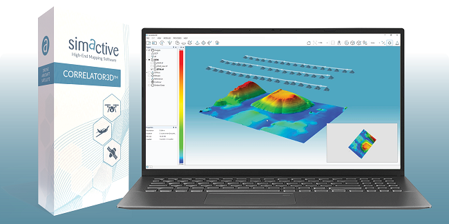 Managing large photogrammetry projects with SimActive software