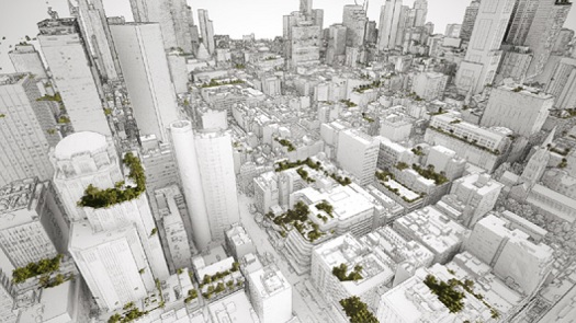 Spatial data growing our green buildings